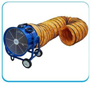 quạt thông gió kin-500 nối ống