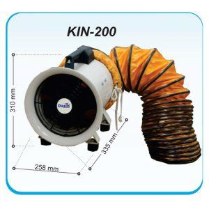 QUẠT HÚT CÔNG NGHIỆP KIN-200