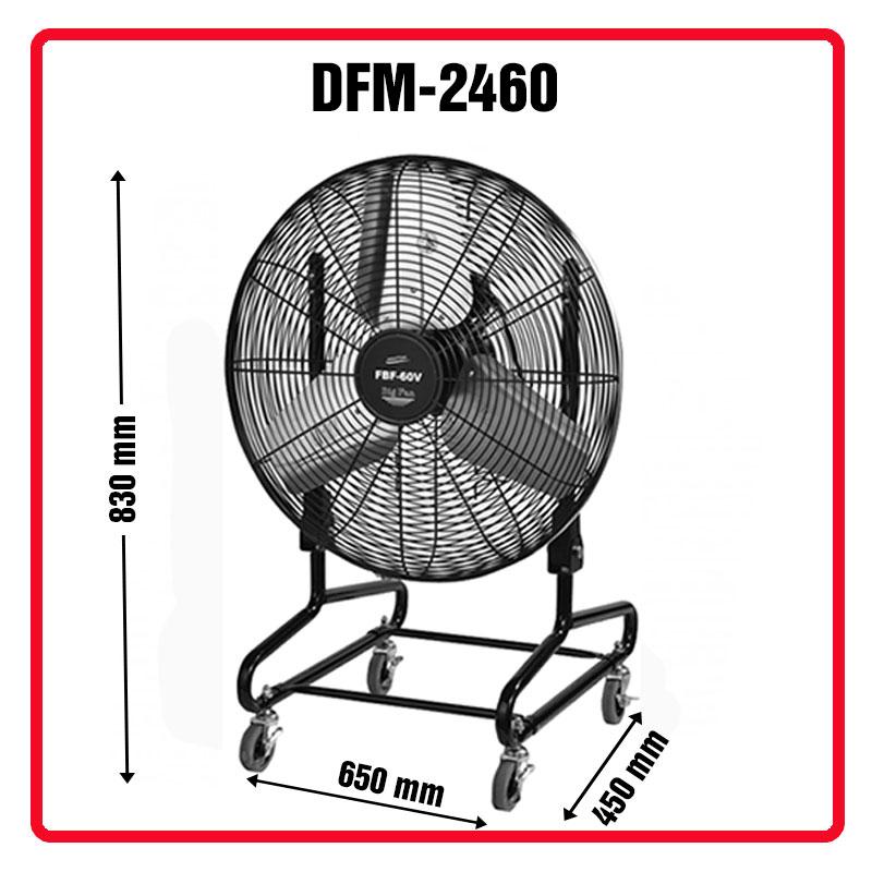 quạt sàn công nghiệp DFM-2460