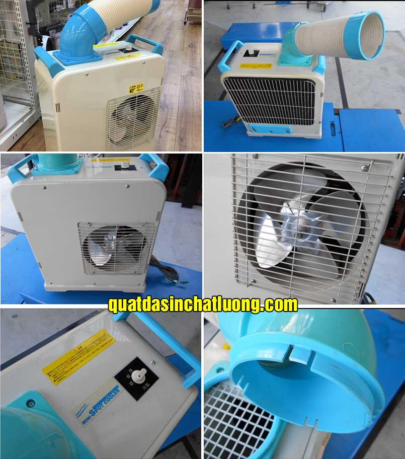 cấu tạo máy lạnh di động sac-1800