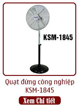 quạt đứng công nghiệp ksm-1845 dasin