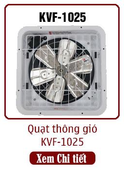 quạt thông gió công nghiệp KVF-1025 dasin
