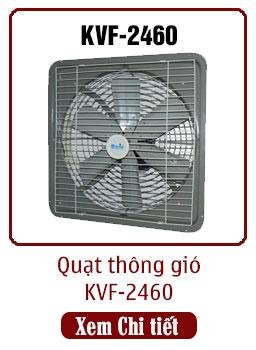 quạt thông gió công nghiệp kvf-2460 dasin