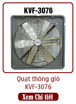 quạt thông gió công nghiệp kvf-3076 dasin