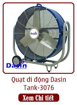 quạt công nghiệp di động tank-3076 dasin
