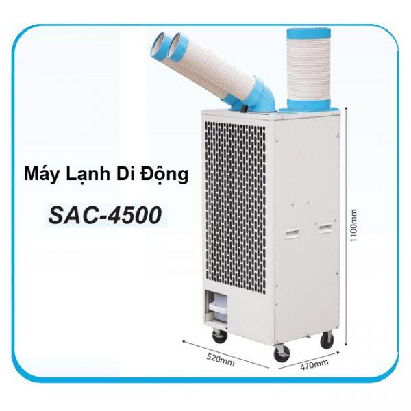 Máy lạnh di động 3 ống SAC 5400