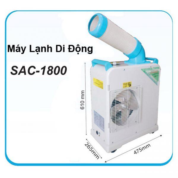 MÁY LẠNH DI ĐỘNG SAC - 1800