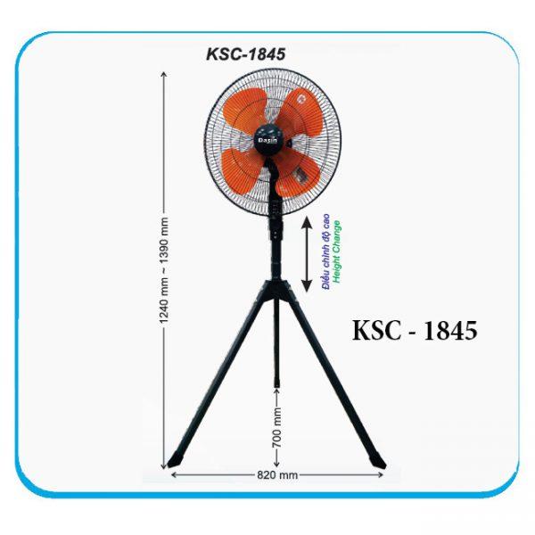QUẠT ĐỨNG 3 CHÂN KSC-1845