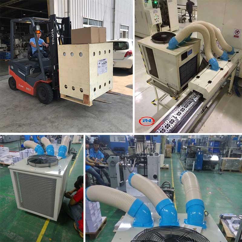 ứng dụng máy lạnh di động nakatomi sac-7500