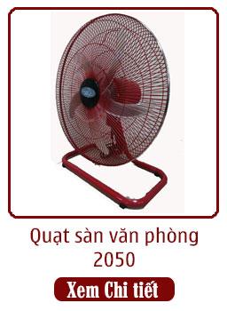 quạt sàn văn phòng 2050 đỏ