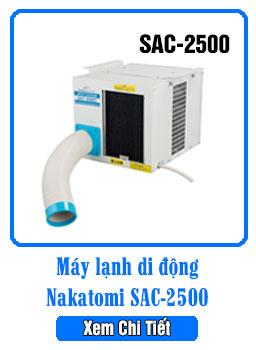 Máy lạnh di động 2500