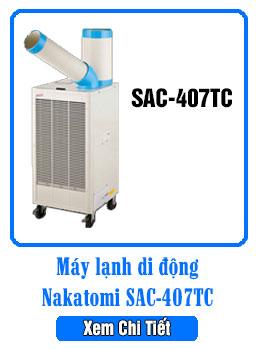 Máy lạnh di động Nakatomi Sac-407TC