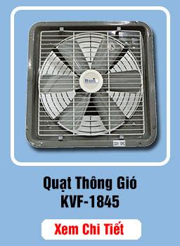 quạt hút gió công nghiệp kvf-1845