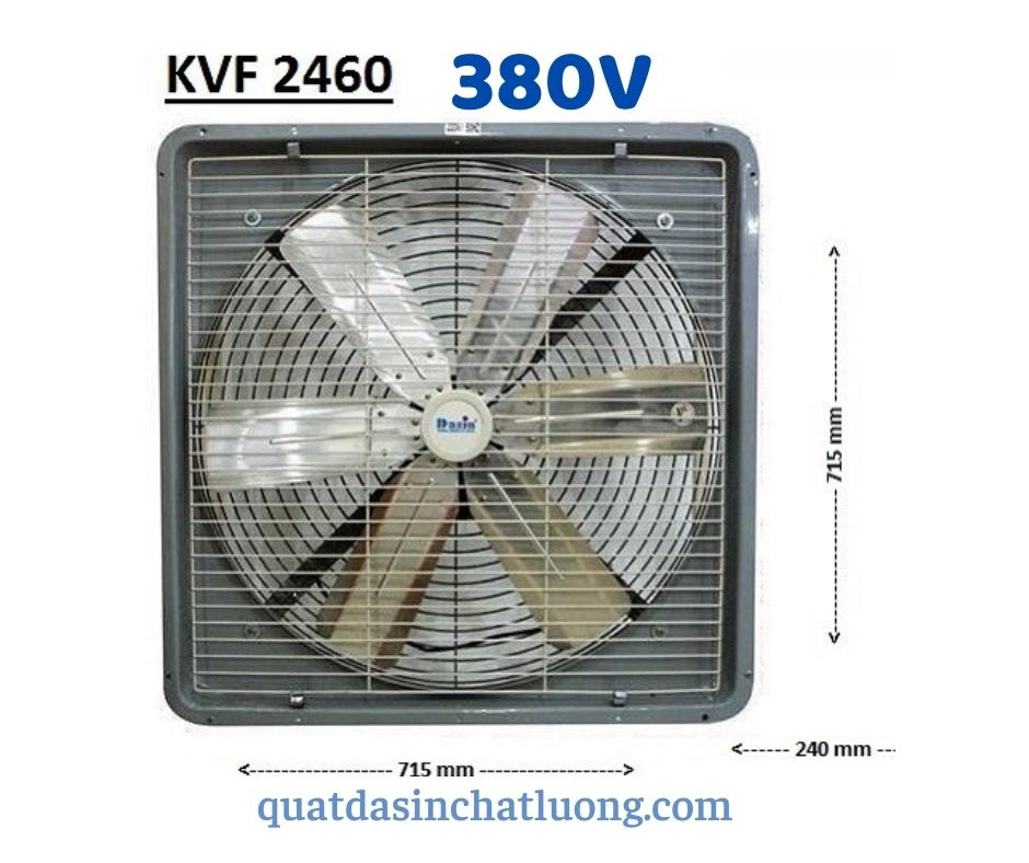 Quạt thông gió KVF- 2460 3 pha