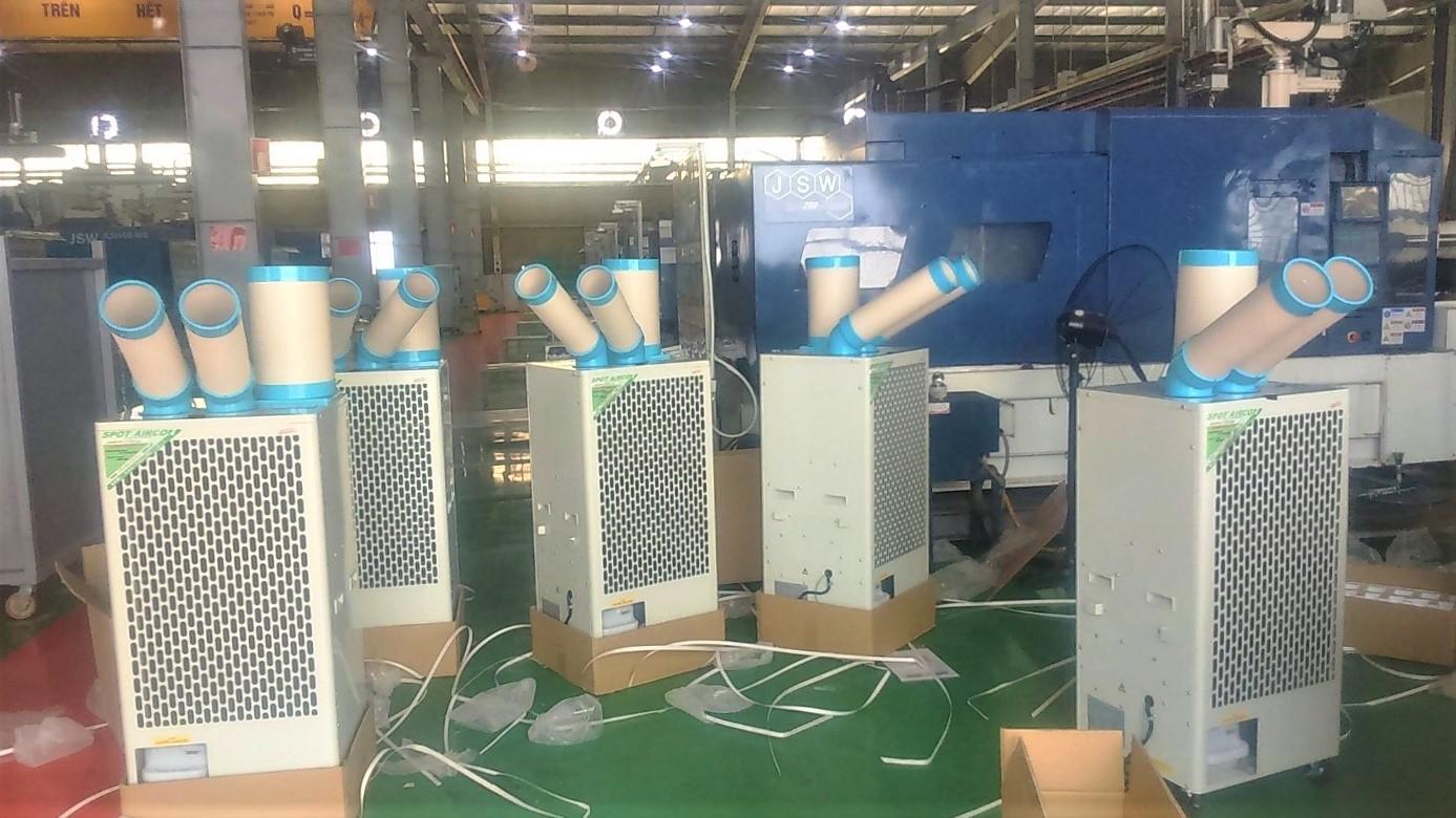 Máy lạnh di động Nakatomi trong công nghiệp