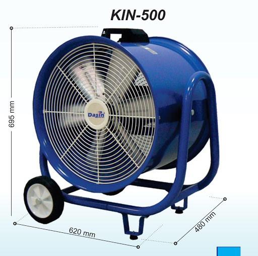 Quạt hút Dasin KIN- 500