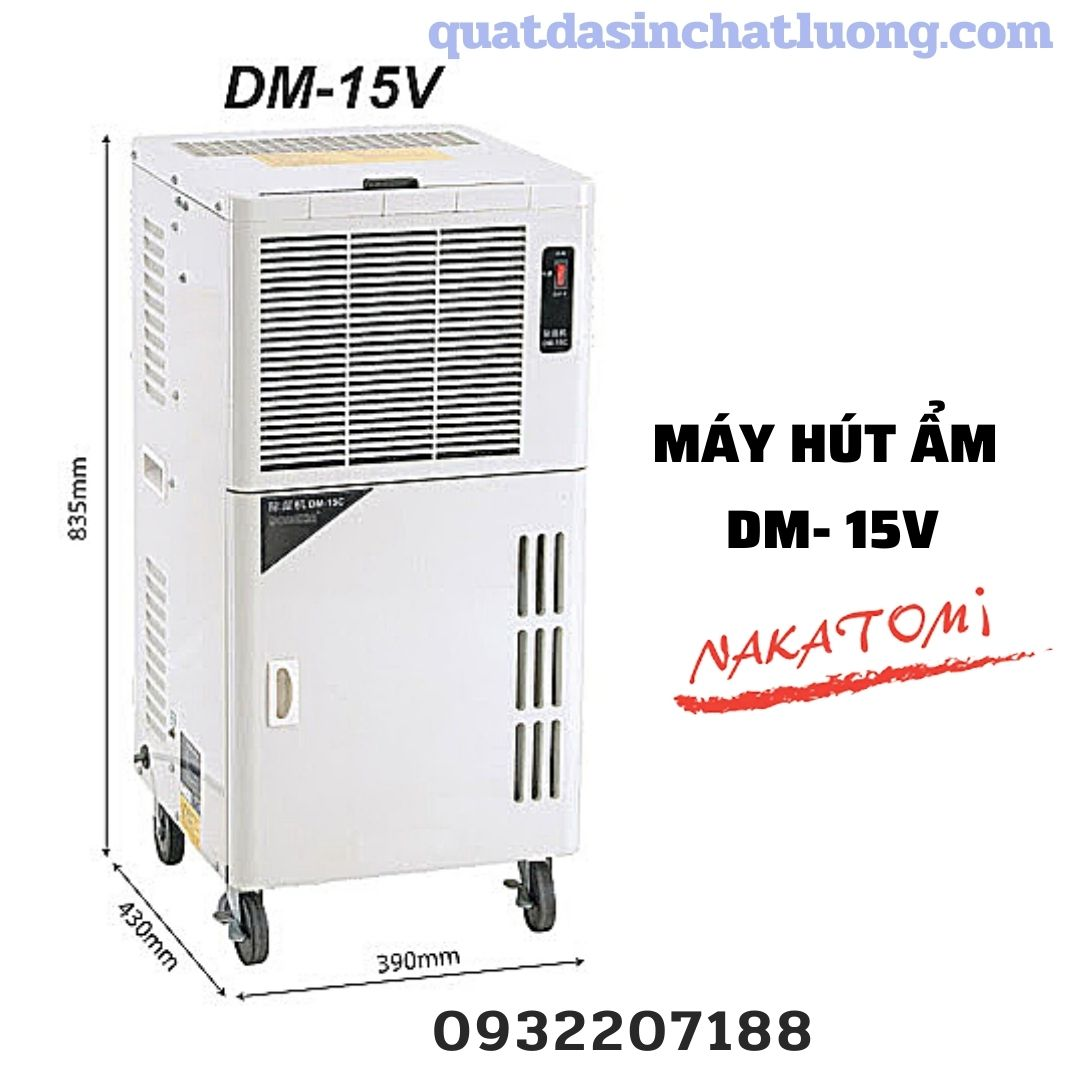 Máy hút ẩm Nakatomi DV- 15