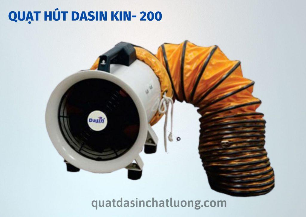 Quạt hút Dasin Kin- 200