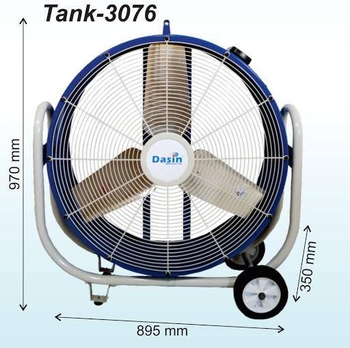 Quạt Dasin tank- 3076