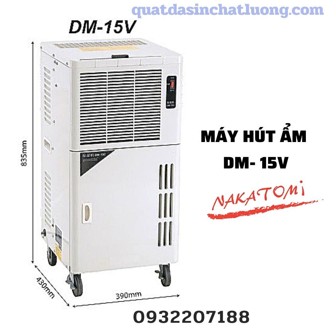 máy hút ẩm Nakatomi DM- 15V công suất 50 lít/ngày