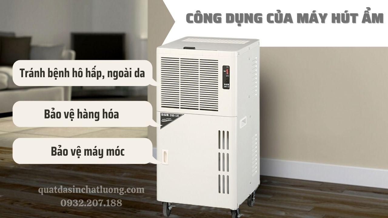 Công dụng của máy hút ẩm