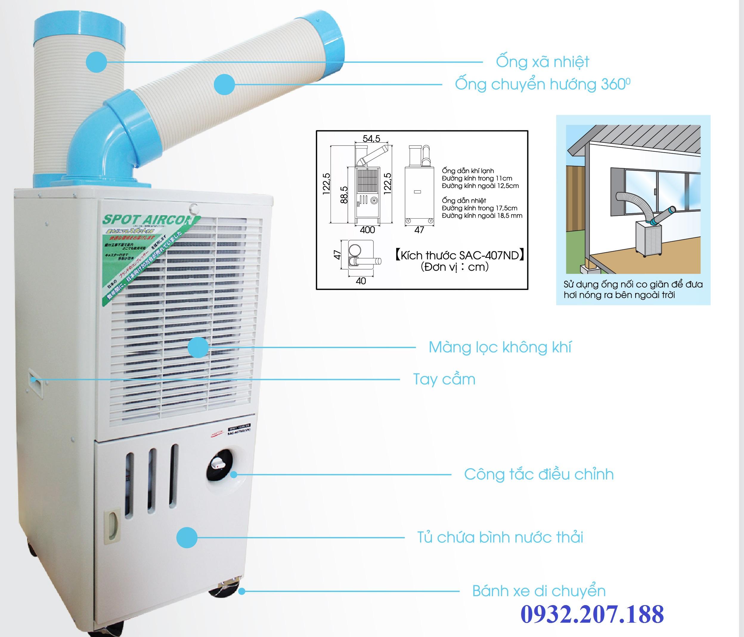 Máy lạnh 1 ngựa SAC- 407ND