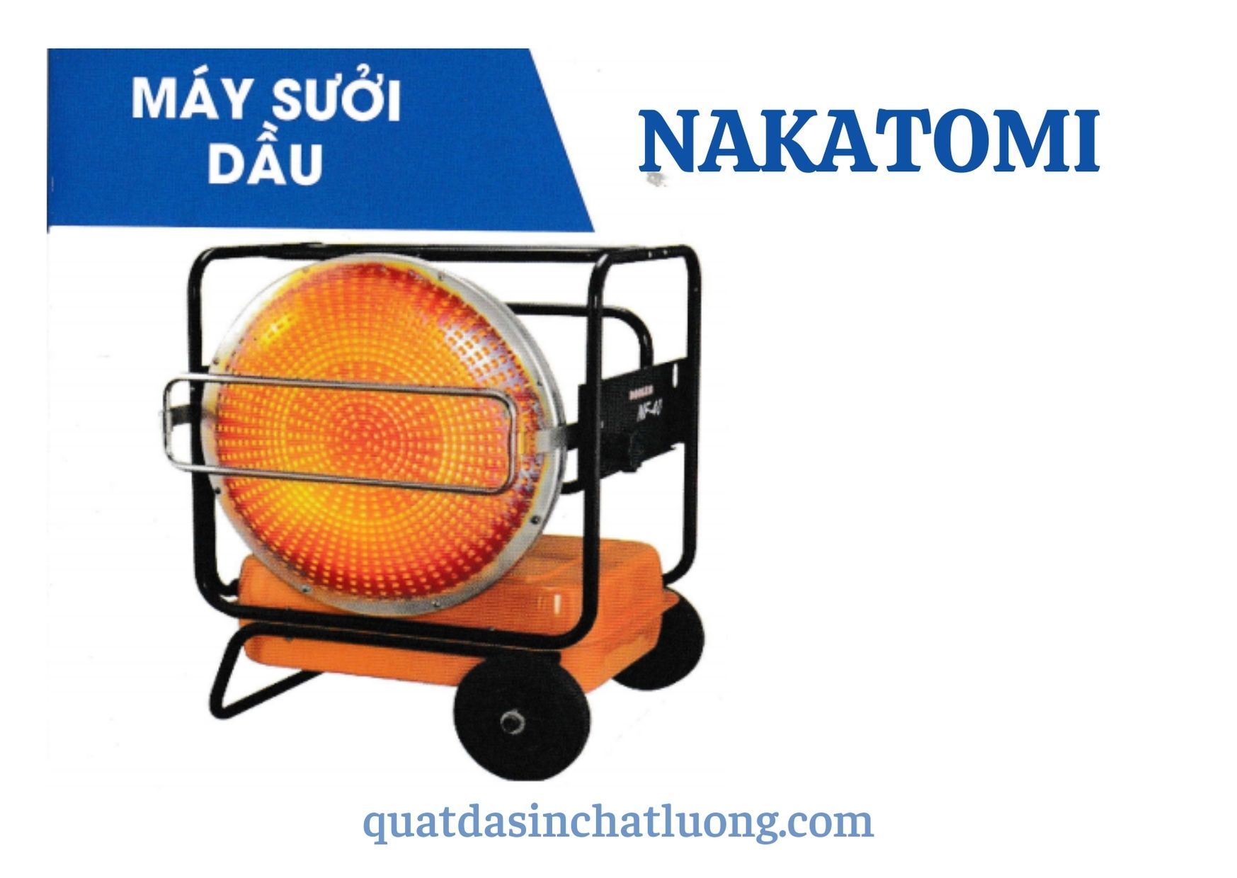 Máy sưởi dầu Nakatomi KH- 115D