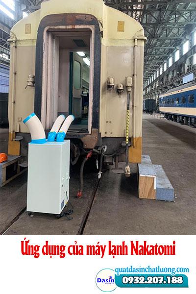 Ứng dụng của máy lạnh Nakatomi