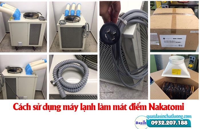 Cách sử dụng máy lạnh làm mát điểm Nakatomi