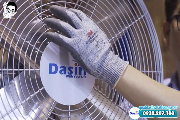 Lồng quạt Dasin làm từ nan thép dày