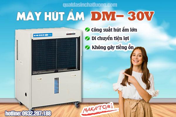 Máy hút ẩm công suất lớn DM- 30V