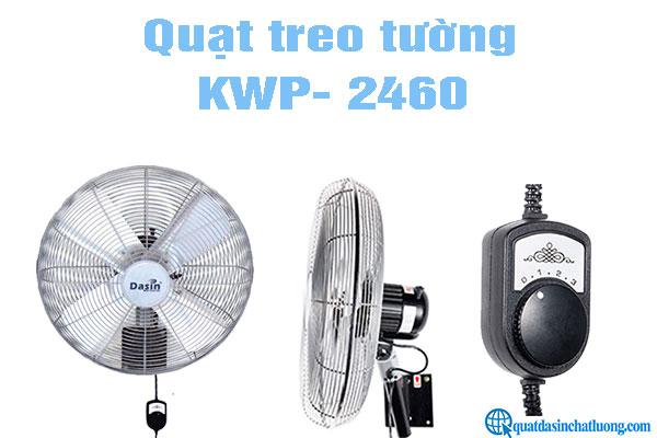 Quạt treo tường công nghiệp KWP- 2460