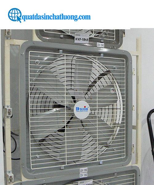 Sử dụng quạt thông gió trong nhà xưởng