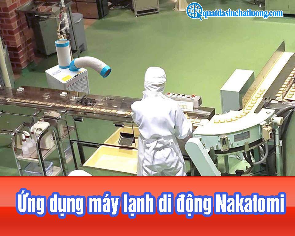 Ứng dụng máy lạnh di động Nakatomi