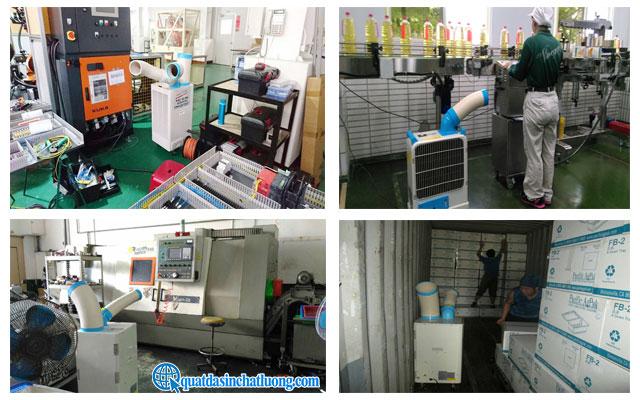 Ứng dụng của máy lạnh di động Nakatomi