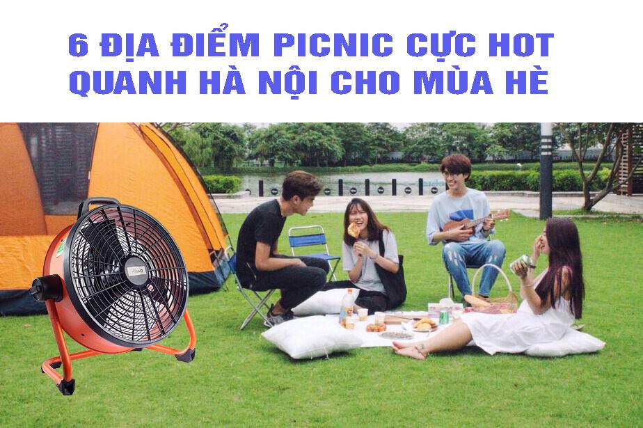 6 dia diem picnic gần HN cực hot