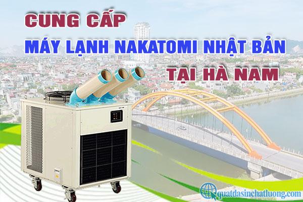 Cung cấp máy lạnh di động Nakatomi tại Hà Nam