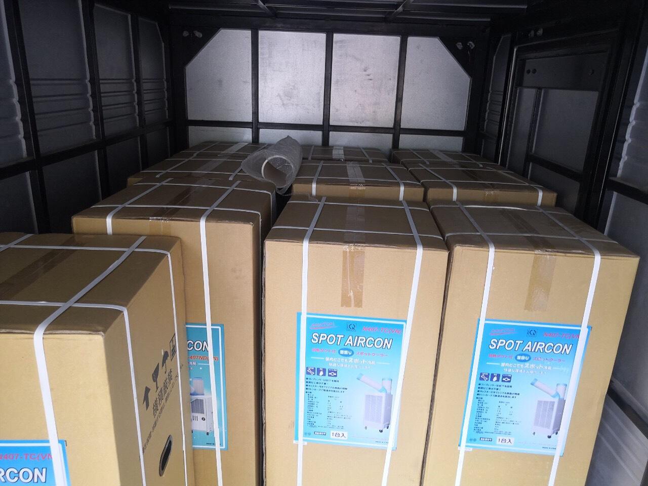 Cung cấp máy lạnh Nakatomi Nhật Bản cho Hà Nam