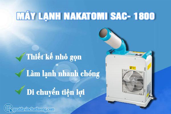 giá máy lạnh Nakatomi SAC- 1800
