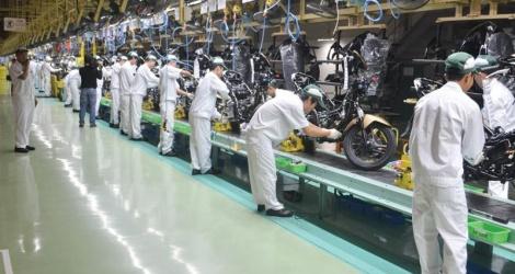 Sản xuất tại nhà máy honda Hà Nam