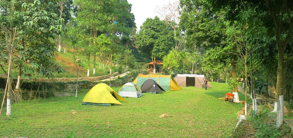Địa điểm picnic Sơn Tinh Camp