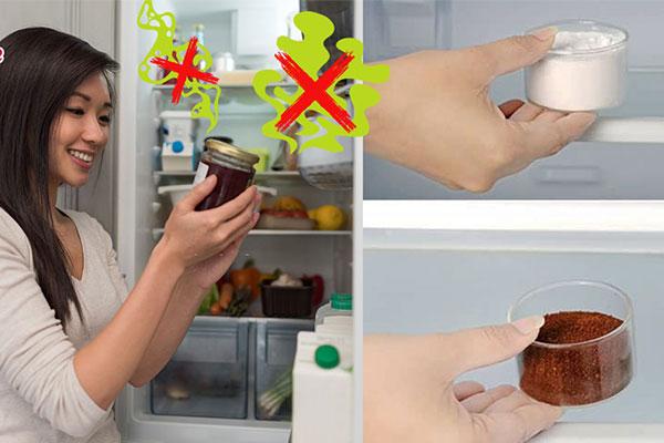 Dùng bã cà phê, baking soda khử mùi hôi