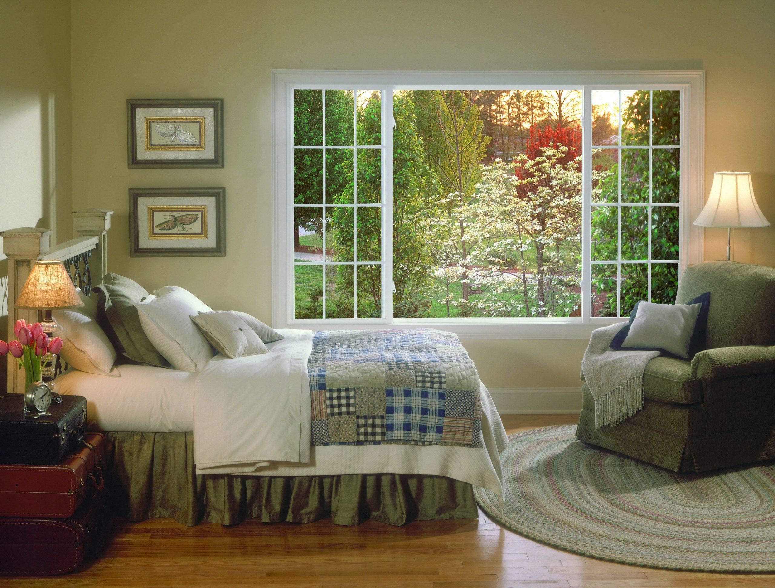 Mở rộng cửa sổ cửa chính phòng ngủ