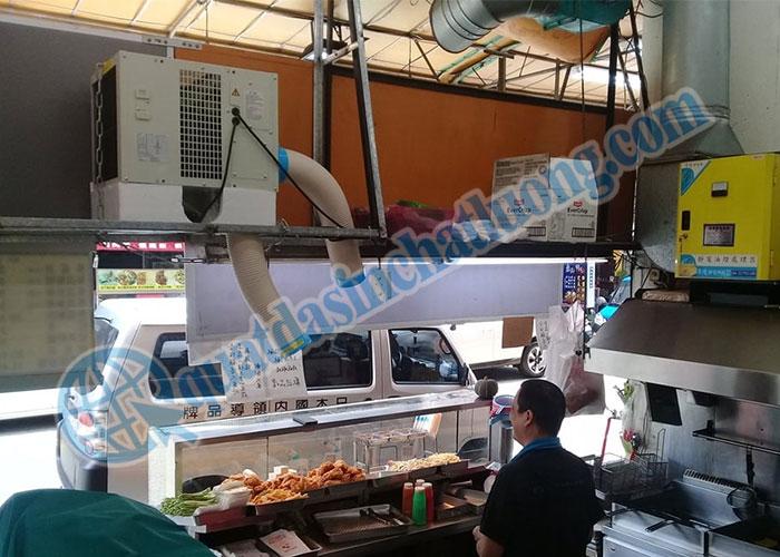 Sử dụng máy lạnh treo trần SAC- 2500