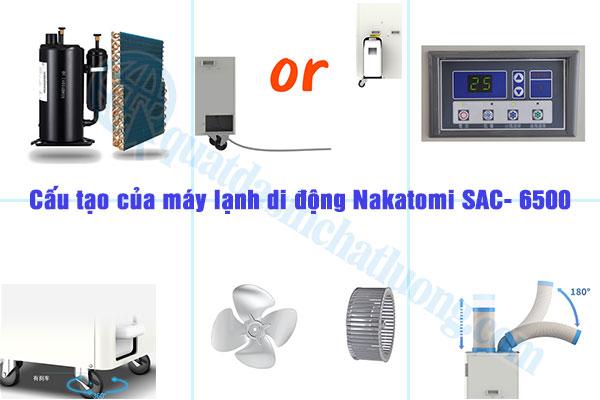 Ưu điểm của máy lạnh SAC- 6500