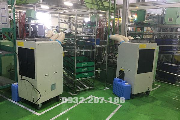 Làm mát nhà xưởng với máy lạnh Nakatomi