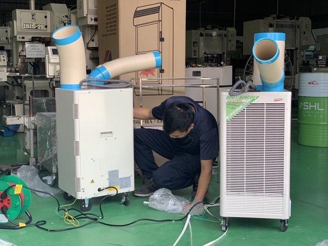 Máy lạnh di động N407TC có vòi xoay tự động