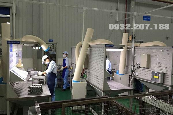 Sử dụng máy lạnh Nakatomi để làm mát nhà xưởng