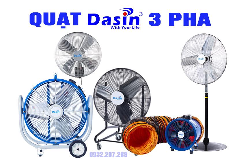 Quạt Dasin 3 pha