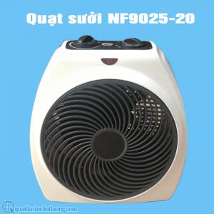 quạt sưởi mini 2 chiều NF9025